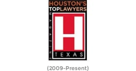 Houston's Top Lawyers Texas (2009-Present)